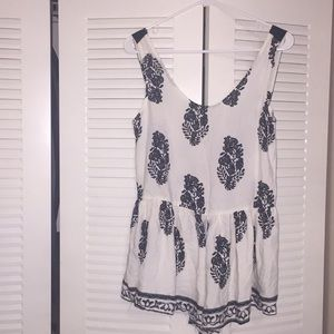 House of Three Size 6 Romper